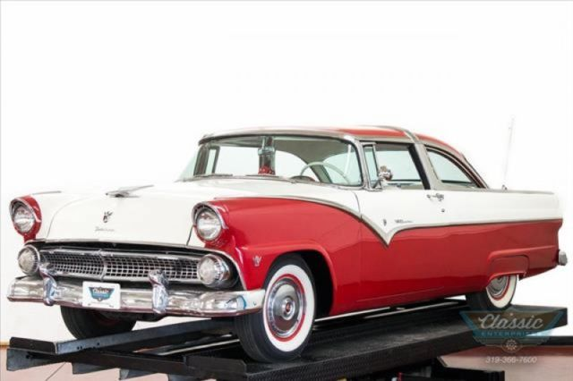 1955 Ford Crown Victoria stylish cruiser in original colors solid and clean