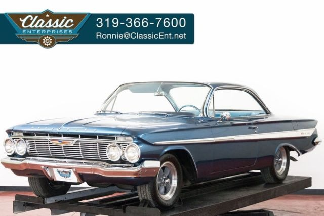 1961 Chevrolet Impala Bubble Top solid basically original great driver