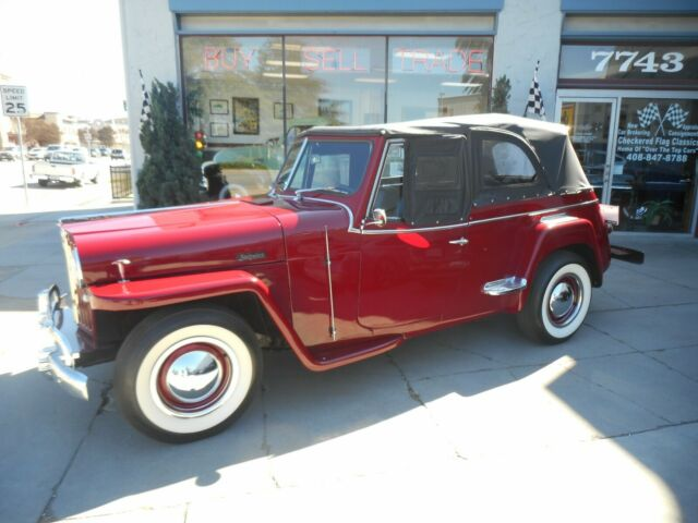 1949 Willys 439 Jeepster