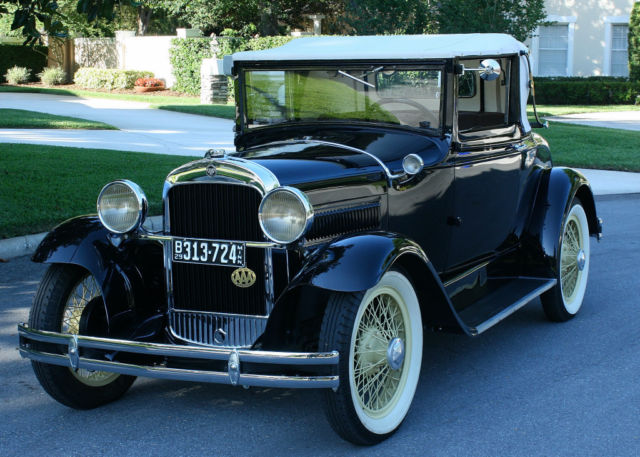1929 Other Makes ESSEX CONVT