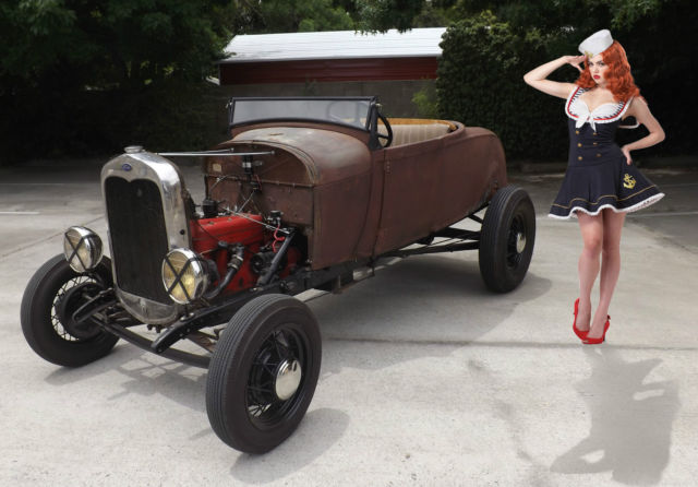 1929 Ford Model A High Boy Roadster 3 Speed Banger 1932 Style