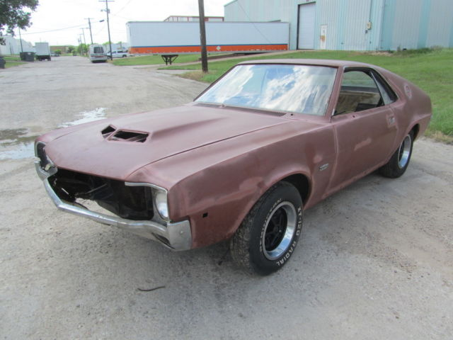 1970 AMC AMX 3-DAY AUCTION LOW RESERVE BARN FIND MUST GO !!!!!!