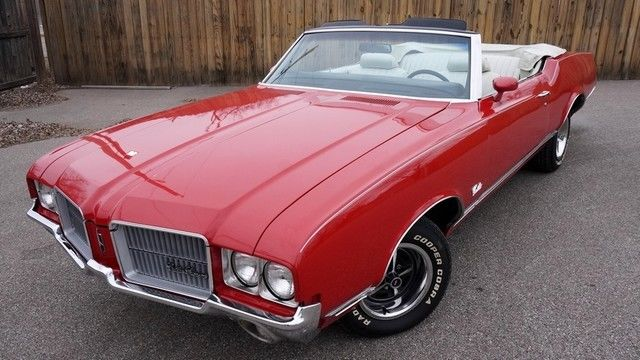 1971 Oldsmobile Cutlass SX 455
