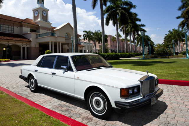 1988 Rolls-Royce Silver Spirit/Spur/Dawn SILVER SPUR LONG WHEEL BASE