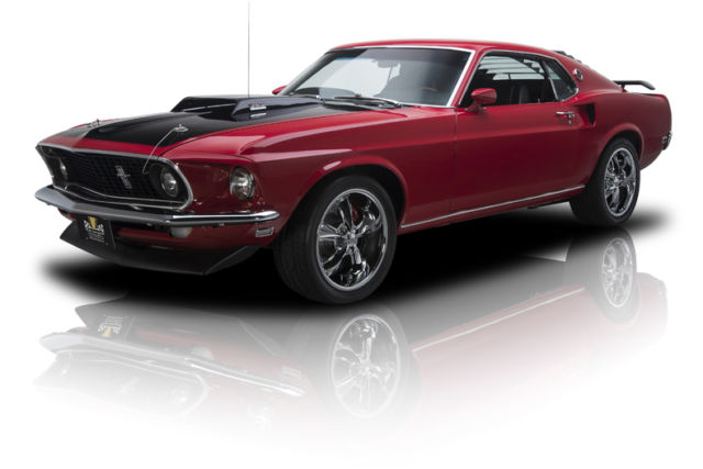 Rotisserie built mustang mach 1 pro touring 383 v8 475 hp c6 3 speed ps a c for sale photos