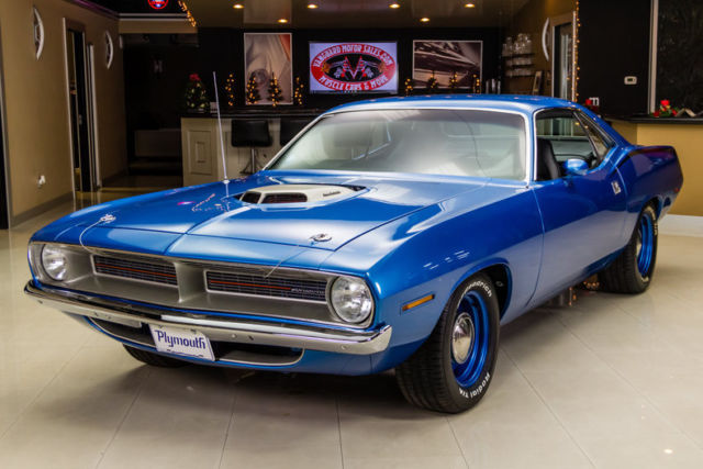 1970 Plymouth Barracuda HEMI Recreation