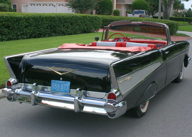 1957 Chevrolet Bel Air/150/210 CONVERTIBLE- ROTISSERIE - 79K MI