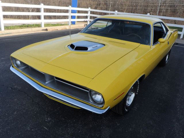 1970 Plymouth Barracuda REAL DEAL BS CODED CUDA