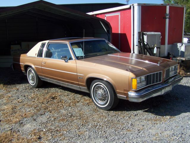 1979 Oldsmobile Eighty-Eight 36k ORG 88 2DR COUPE ASTRO ROOF NO RESERVE NON RUN