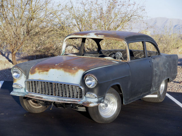 1955 Chevrolet Bel Air/150/210 BELAIR 2DR TUBBED, RUNNING & DRIVING, EVEN BURNOUT
