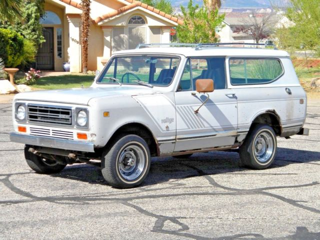 1978 International Harvester Scout II Rallye Edition