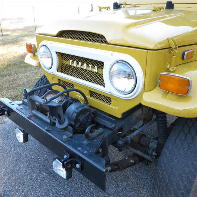 Rust Free 1972 Fj40 Pto Winch Excellent Driver For
