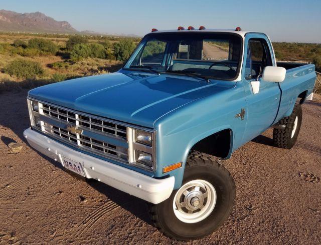 Rust Free 1984 Chevrolet K20 3 4 Ton 4x4 Very Orig