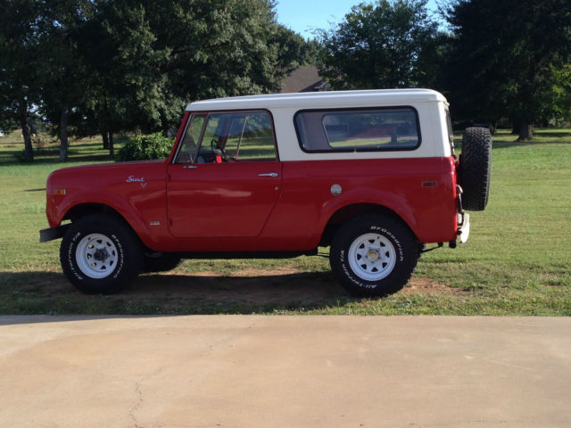 1970 International Harvester Scout 800A-  							 							show original title