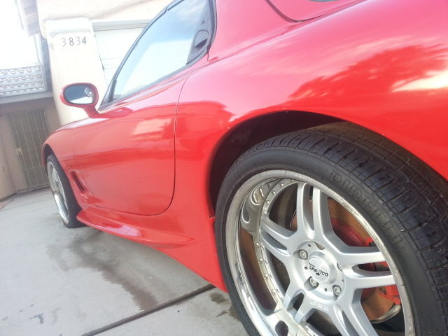 Rx 7 FD model 1991 with 1Jz engine for sale: photos