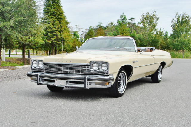 1975 Buick LeSabre simply mint one of an kind classic conv 20ks