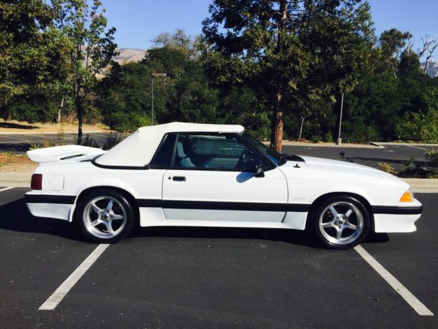 saleen mustang 1 of 137 convertible saleen mustangs for 1988 for sale. Black Bedroom Furniture Sets. Home Design Ideas