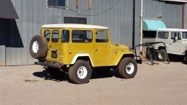 Scarce 1976 Fj40 Original 40 Year Owner Rust Free Original