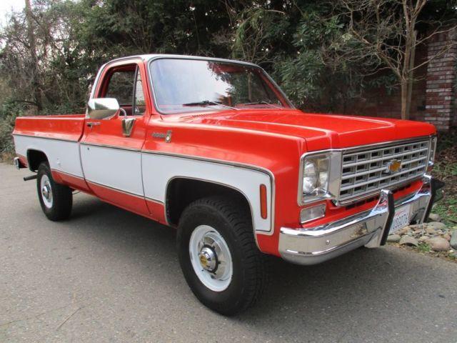Scottsdale PIck Up 4x4 Truck Other K20 Blazer K10 3500 ...