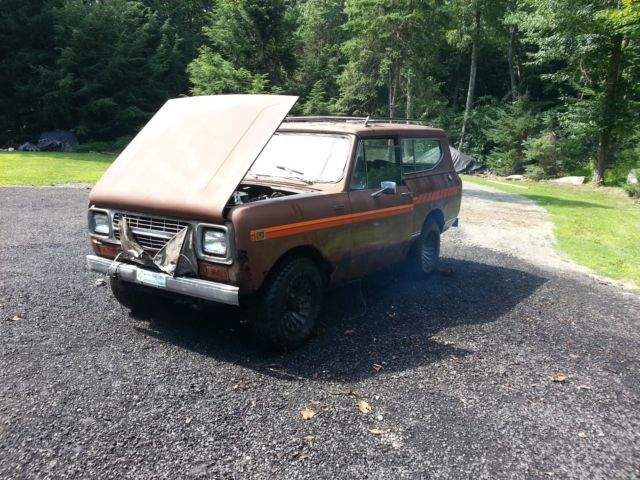 1980 International Harvester Scout SS II