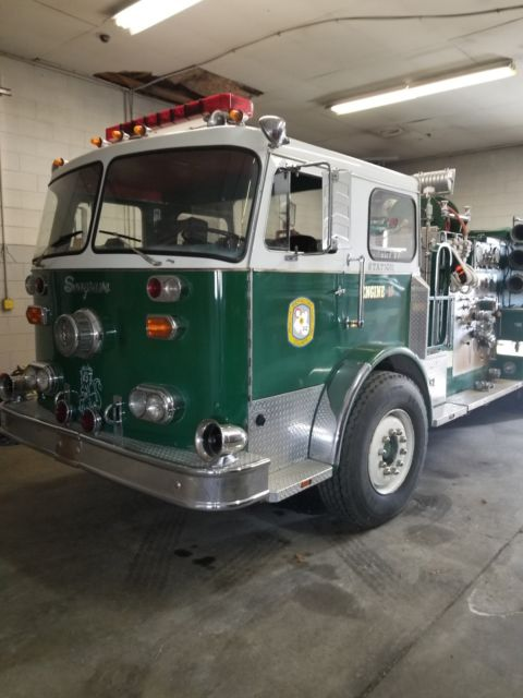 Seagrave Fire Apparatus >> Seagrave Fire Truck For Sale Photos Technical Specifications