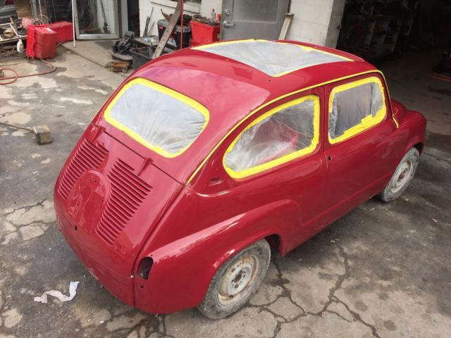 SEAT 600 FIAT microcar other bigger than 500 abarth electric