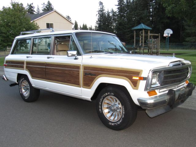1990 Jeep Wagoneer  No resever  jeep