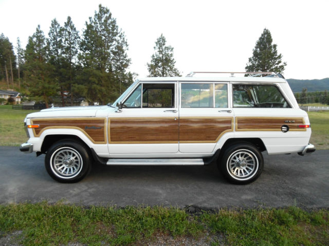 1991 Jeep Wagoneer 86 87 88 89 90 91 JEEP WAGONEER FINAL EDITION AMC