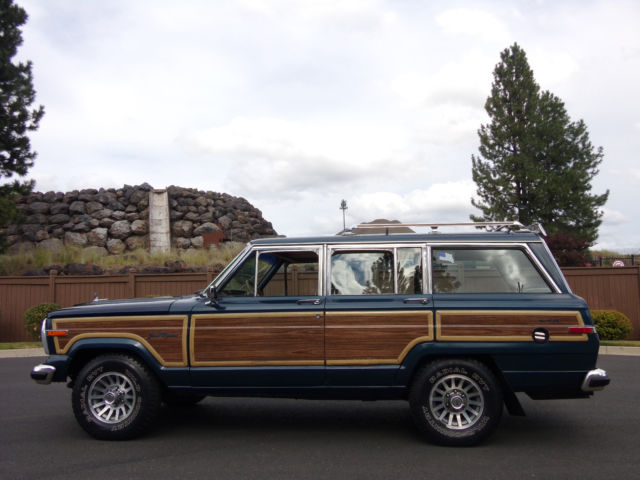 1988 Jeep Wagoneer amc grand wagoneer woody wagon