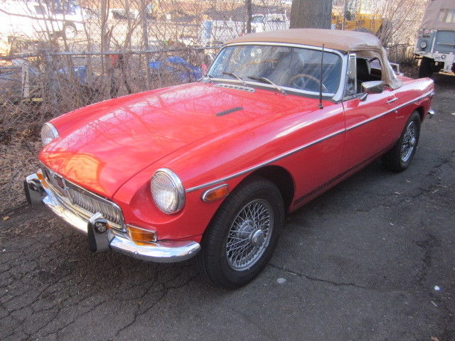 Sensibly modified MGB for quick, fun road use for sale
