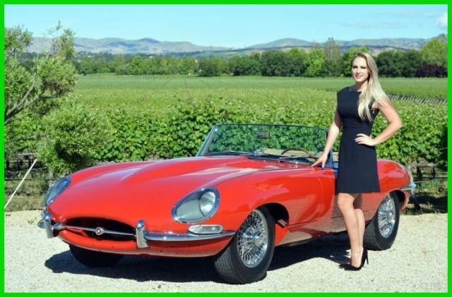 1964 Jaguar E-Type XKE 3.8 SERIES 1 ROADSTER
