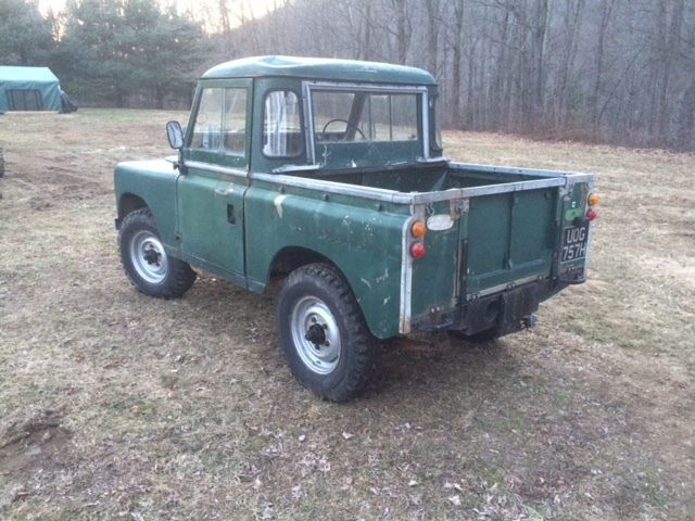 series 11a land rover diesel swb 1970 for sale photos technical specifications description. Black Bedroom Furniture Sets. Home Design Ideas