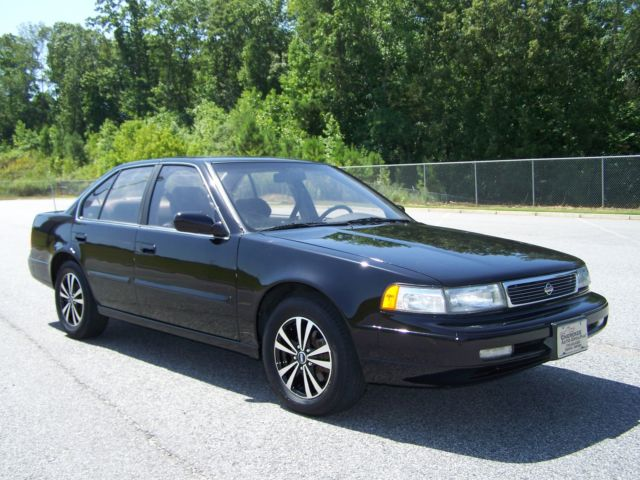 1992 Nissan Maxima 1-OWNER GXE CLEAN LOW MILE CRUISER SE SISTER CAR