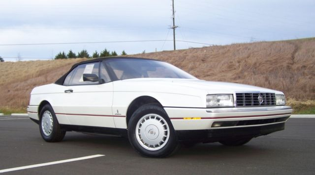 1992 Cadillac Allante CONVERTIBLE PININFARINA LOW PRODUCTION ALLANTE'
