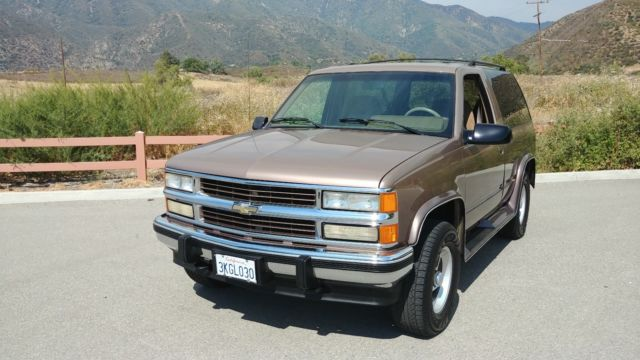 Sharp Clean 1 Owner Ca 4wd Rare Conversion Package Like Tahoe