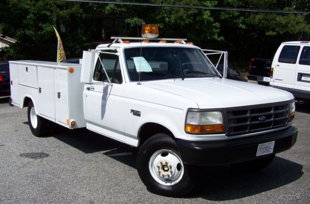1992 Ford F-350 1-OWNER 7.3L DIESEL 1 TON DUALLY