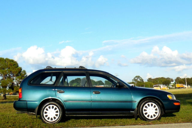 1993 Toyota Corolla RARE WAGON 1 OWNER NEW TIMING BELT/PUMP