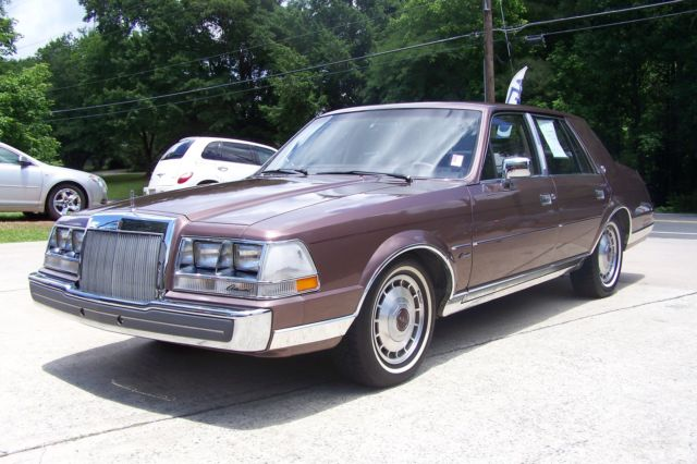 1987 Lincoln Continental 1-OWNER 52K COLLECTOR QUALITY SHARP SHOW OR DRIVE!
