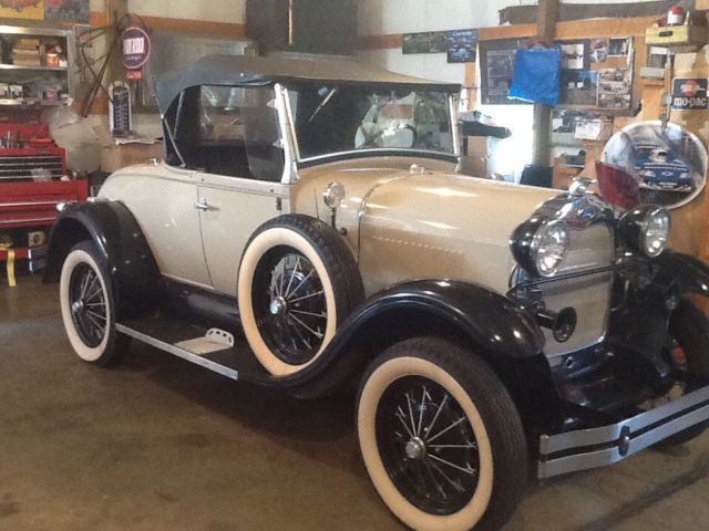 1980 Ford Model A Shay 29 Model A roadster