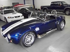 1965 Blue Shelby Backdraft Convertible with Black interior