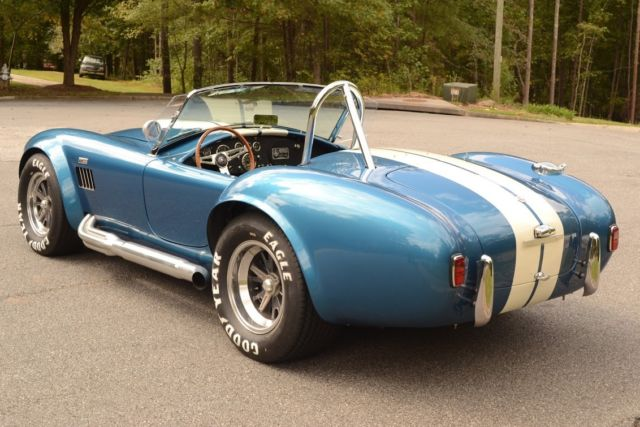 1965 Blue Shelby Convertible with Black interior