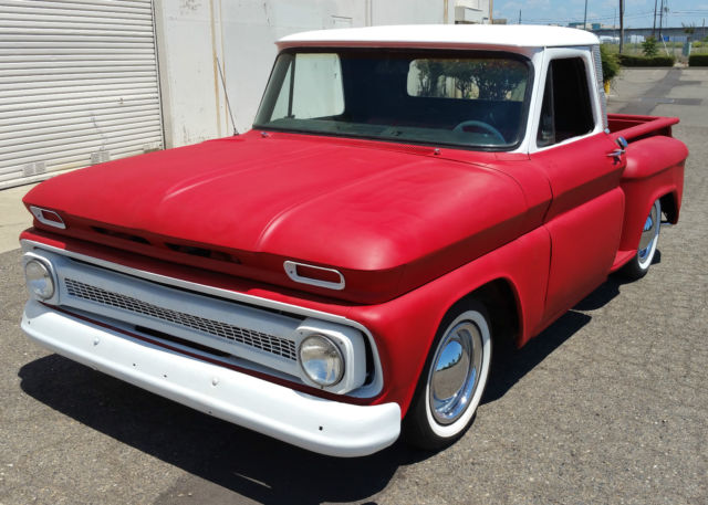 1966 Chevrolet C-10 RED HEADED STEP SIDE C10