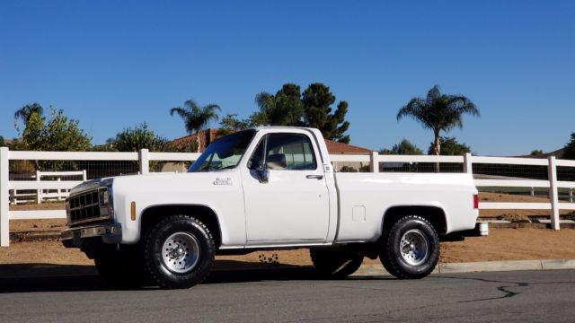 1980 GMC Sierra 1500 SHORTBED