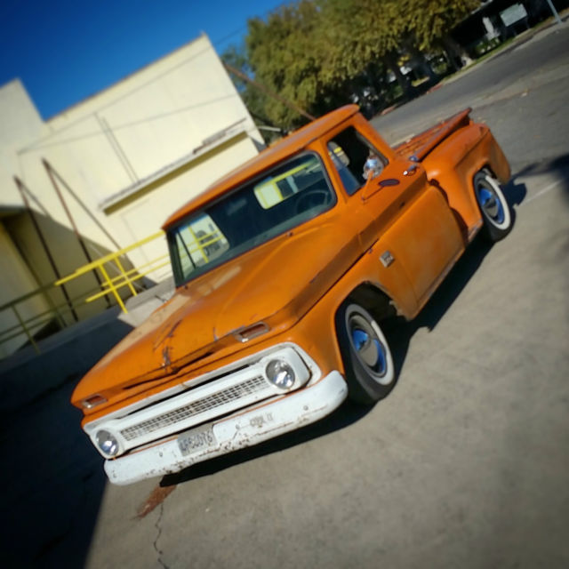 1966 Chevrolet C-10 ORANGE CRUSHED