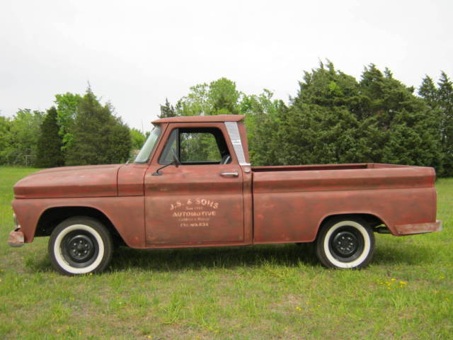 1965 GMC PICKUP SHORT WIDE BED, COLD A/C, DAILY DRIVER NOW!!