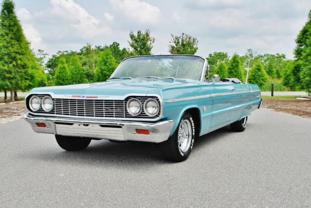 1964 Chevrolet Impala Wow what and amazing car with nom 409
