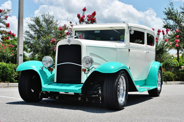 1931 Chevrolet Sport Coupe simply an amazing street rod loaded even a/c