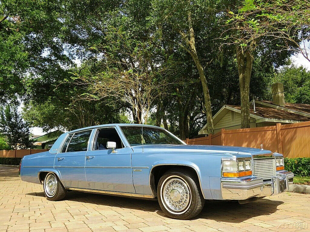 1981 Cadillac DeVille Beautiful Sedan only 25k Miles!!