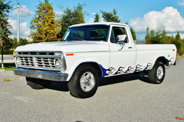 1974 Ford F-250 Loaded automatic a/c p/s 250 model must see.