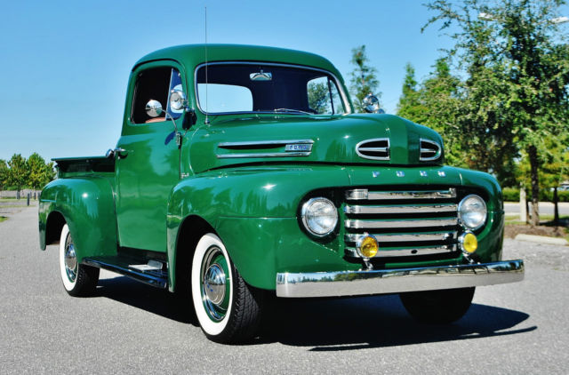simply mint fully restored 1950 ford f 1 pick up done to show condition musr see for sale. Black Bedroom Furniture Sets. Home Design Ideas